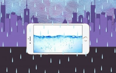 What to do after water contact? Cleaning iPhone after flood