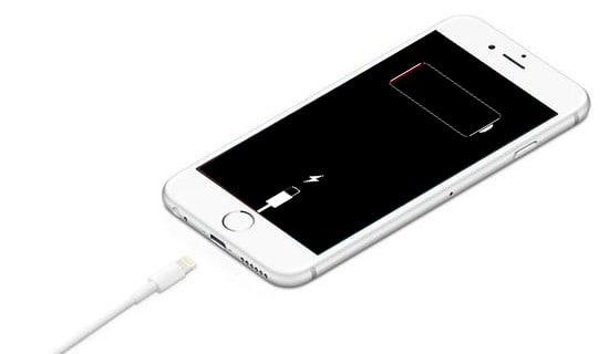 iphone ładowanie