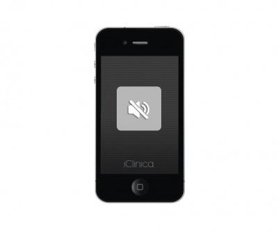 wymiana głośnika audio iphone 4