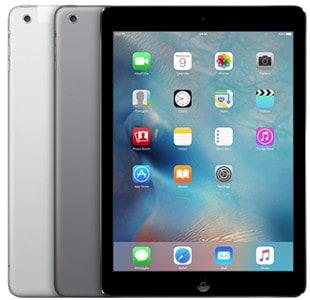 naprawa iPad air cennik