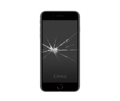 Wymiana zbitej szybki iPhone 8