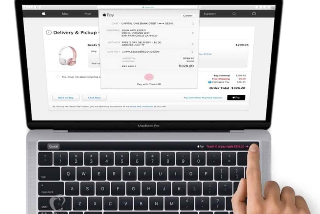 apple pay macbook