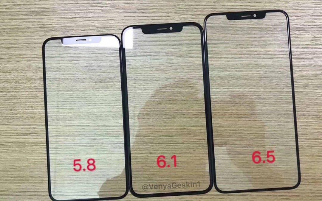 Zdjęcia ekranów nowych iPhone'ów wyciekły do Sieci?