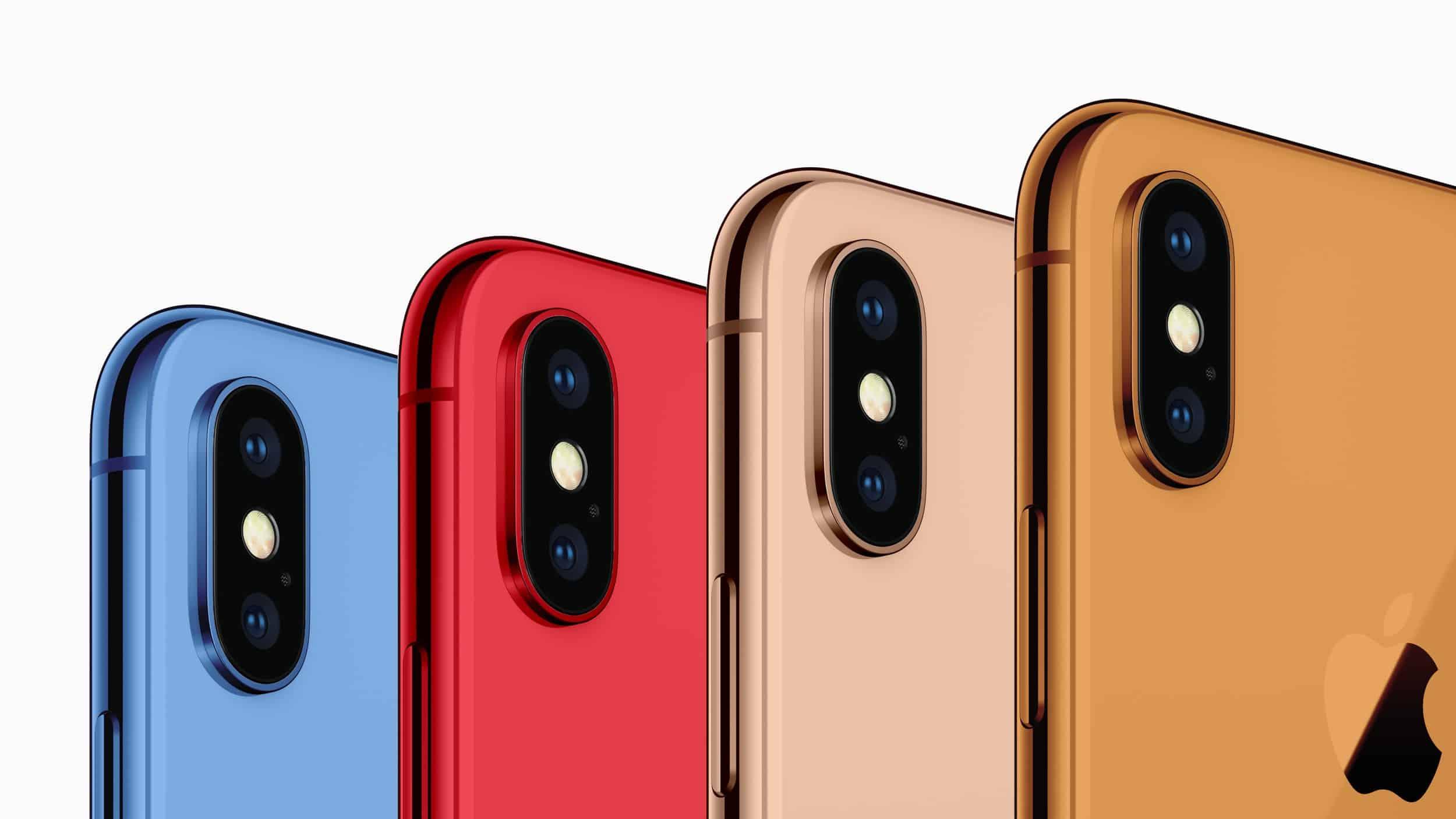 Tegoroczny iPhone X Plus za mniej niż 1000 dolarów? Kolorowy iPhone 9?