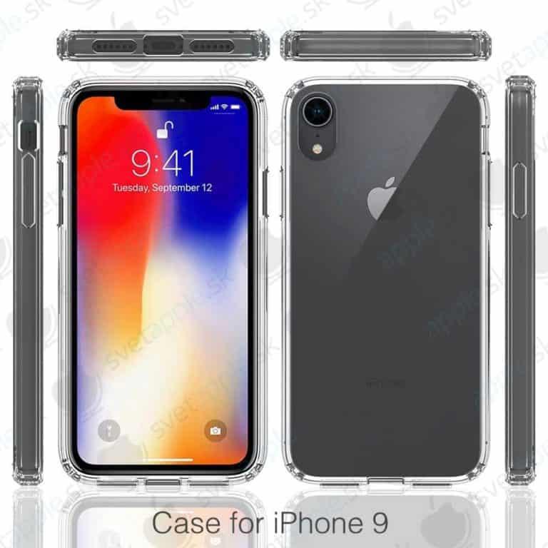 iPhone 9 – cienkie ramki, Face ID, pojedyncza kamera – rendery