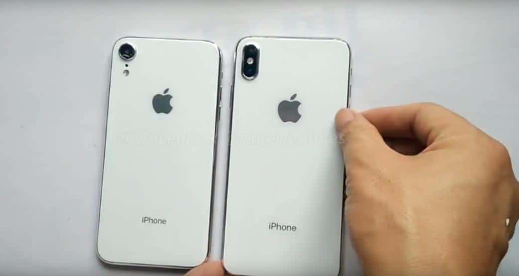 iPhone 9 oraz iPhone X Plus na wideo