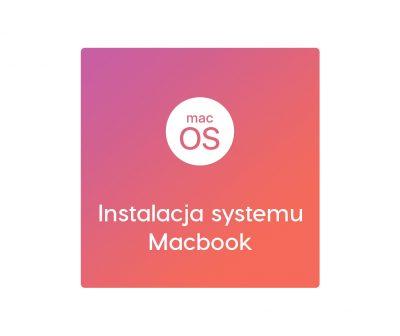 Instalacja systemu Macbook