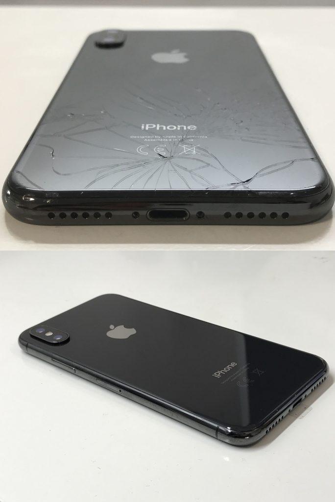 wymiana tylnego szkła iphone