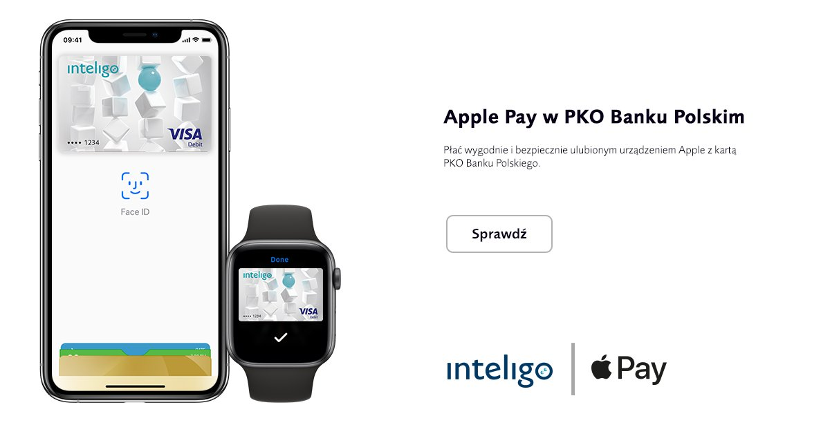 apple pay inteligo