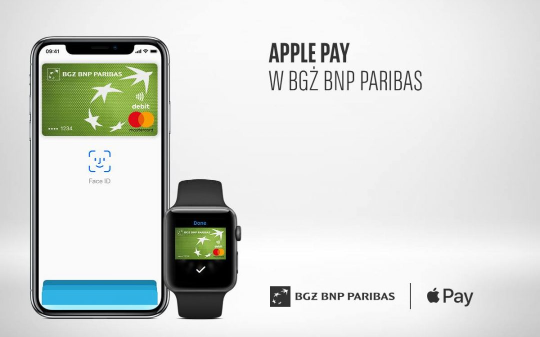 Apple Pay wygrywa z Google Pay w BGŻ BNP Paribas