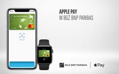 Apple Pay wygrywa z Google Pay w BGŻ BNP Paribas