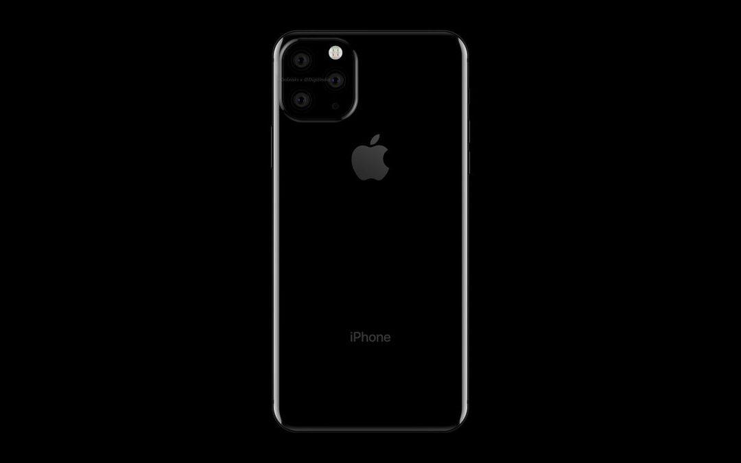 iPhone 2019 z trzema tylnymi obiektywami?
