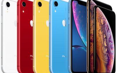 W IV kwartale 2018 roku Apple sprzedało 2 miliony mniej smartfonów niż Samsung