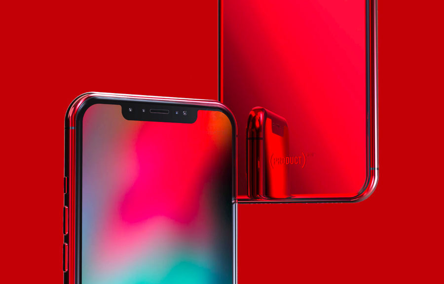 iphone xs max product red