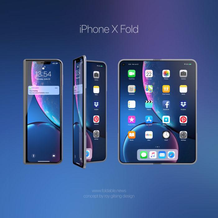 Składany iPhone X Fold – jak będzie wyglądał?