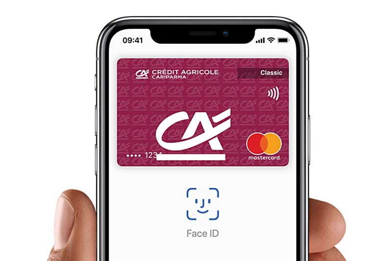 Apple Pay w Credit Agricole