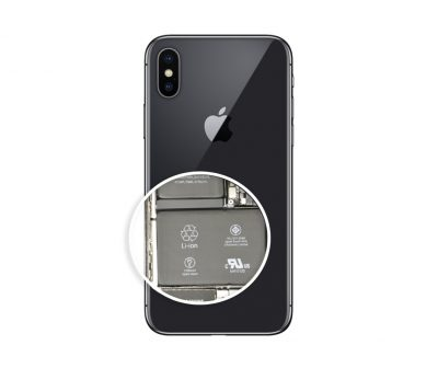 iphone x wymiana baterii