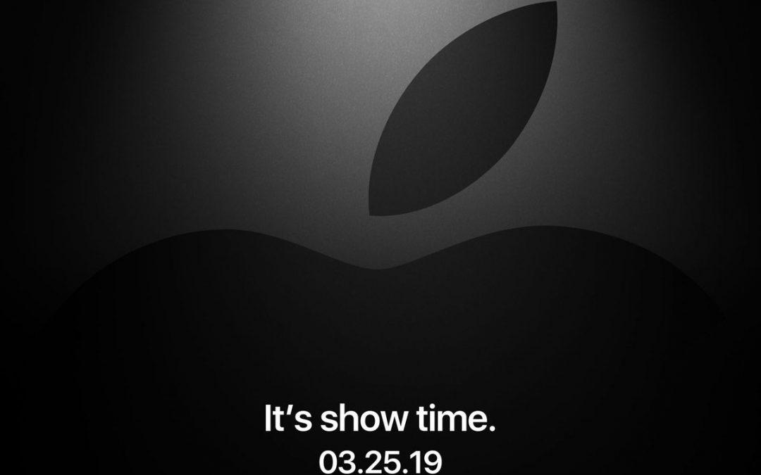 Pierwsza w 2019 roku konferencja Apple już 25 marca!