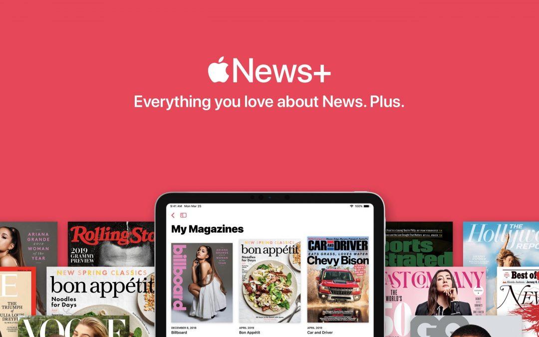 Apple News+ – 200 tysięcy subskrypcji w 48 godzin!