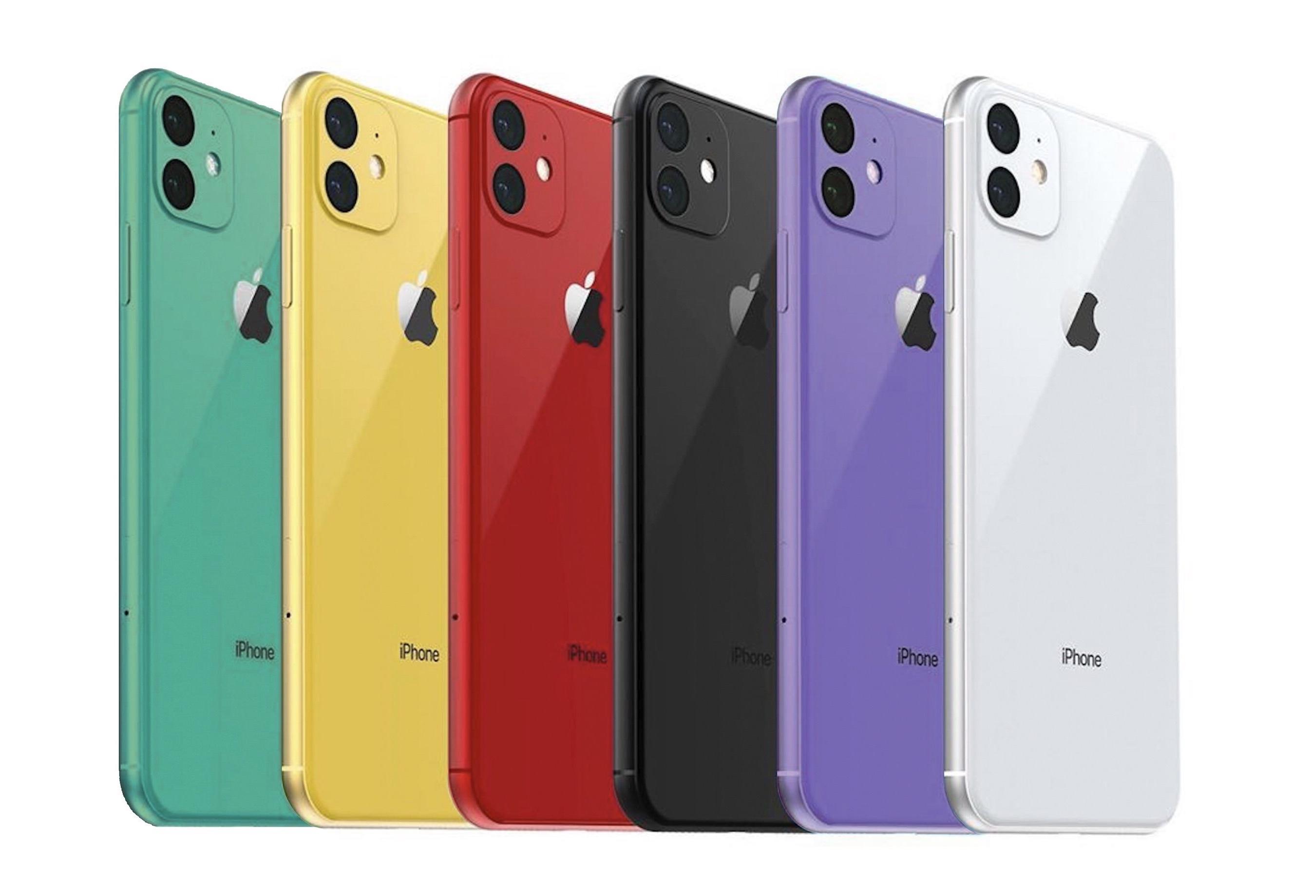 Dwa nowe kolory następcy iPhone XR?