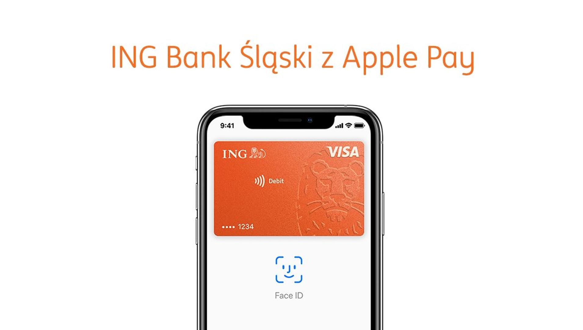 Apple Pay również dla klientów firmowych banku ING