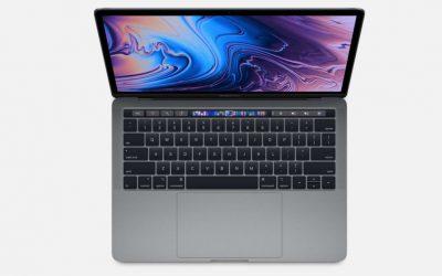 Nowy 13-calowy MacBook Pro przyśpieszył – nawet 83% szybszy od poprzednika.