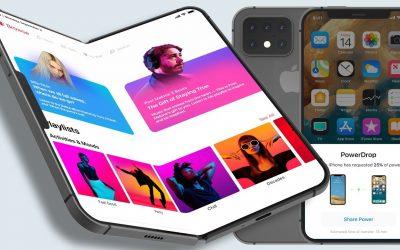 Apple pracuje nad składanym iPhonem oraz iPadem?