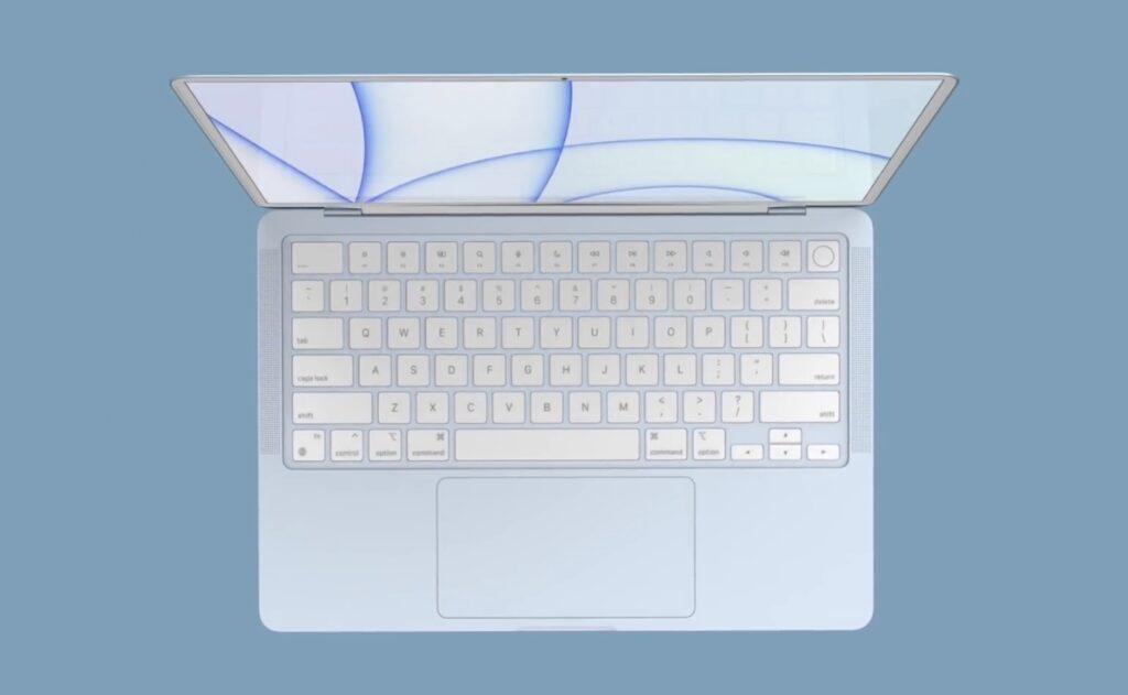 macbook air 2021 premiera